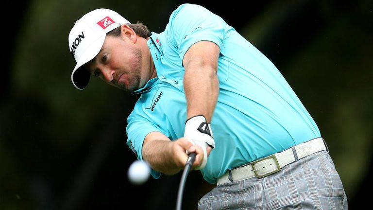 Graeme McDowell: seven birdies on day two