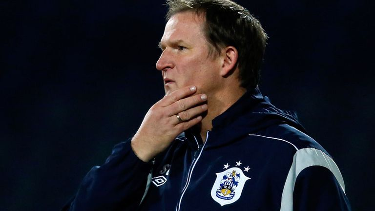 Simon Grayson: A day to forget for Huddersfield boss