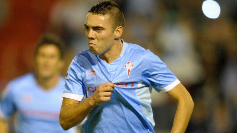 Iago Aspas: Has scored six goals for Celta Vigo this season