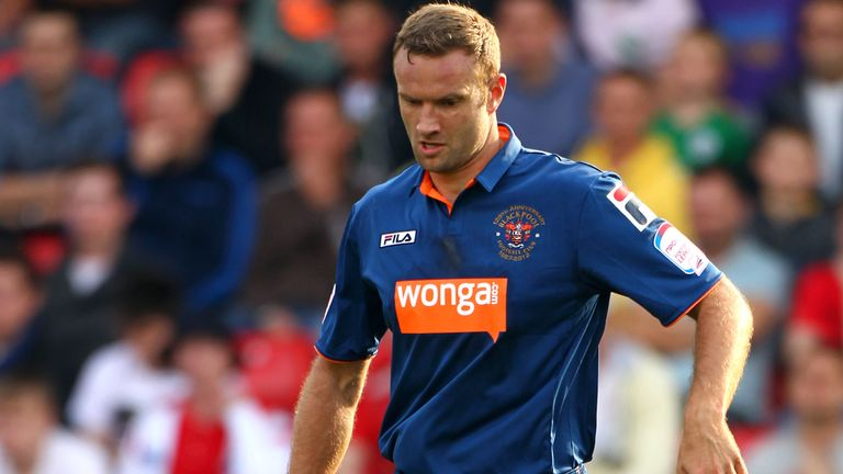 Ian Evatt: Training with Blackburn in pre-season