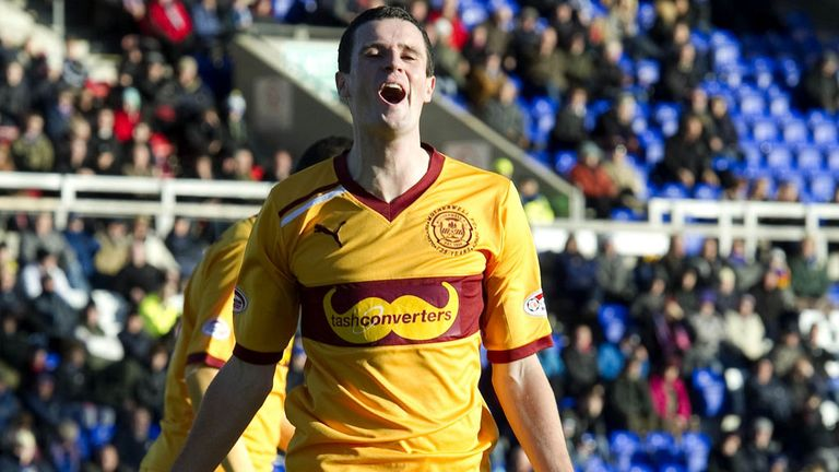 Jamie Murphy: On target for Motherwell in draw with Kilmarnock