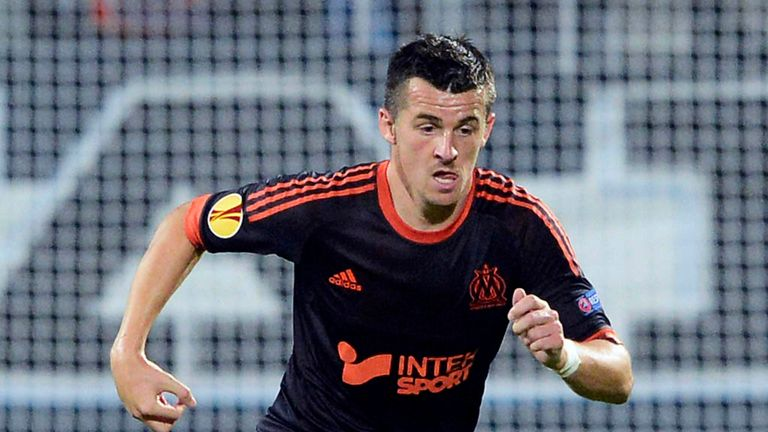 Joey Barton saw red in Marseille's defeat to Nancy on Sunday evening