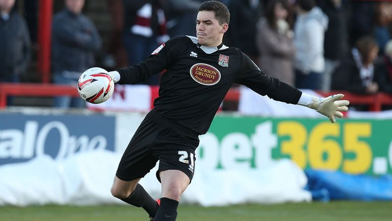 Lee Nicholls: Loved his loan spell at Northampton