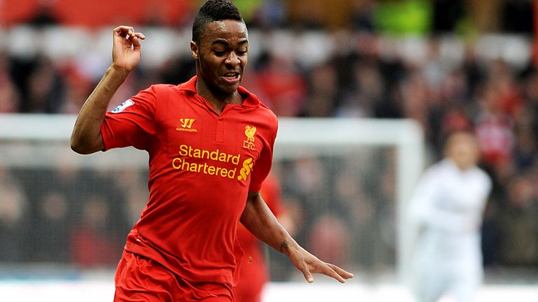 Raheem Sterling: Liverpool form led to a first England cap