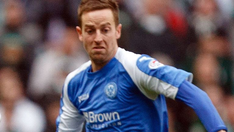 Steve MacLean: Equalised for St Johnstone