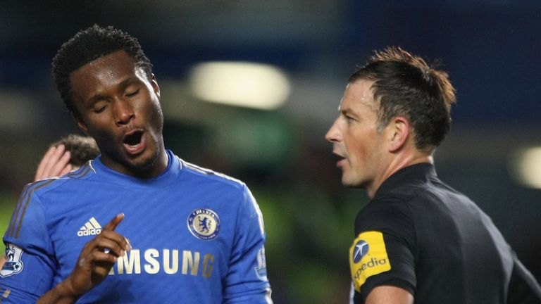 John Obi Mikel: Chelsea midfielder keen to move on from Mark Clattenburg incident