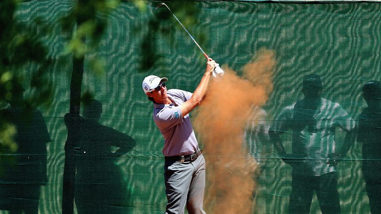 Nicolas Colsaerts: tied at the top after a 70