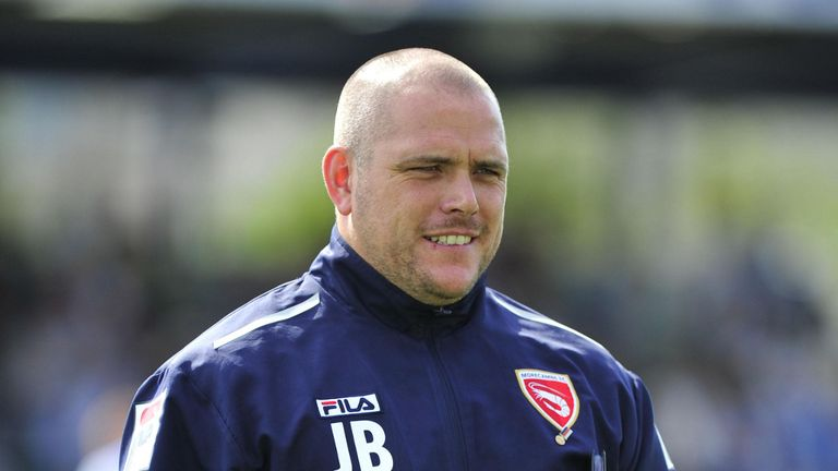Jim Bentley: Impressed by young striker