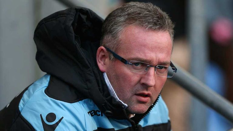 Paul Lambert: Denies claims of a rift with Darren Bent