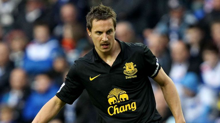 Phil Jagielka: Refusing to let a couple of disappointing results drag Everton down