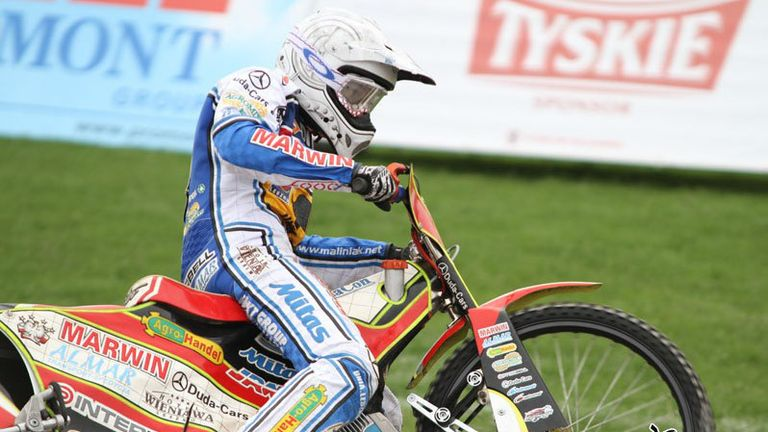 Piotr Pawlicki: Won't be back at Poole in 2013 (Pic credit Fotospeedway.pl)