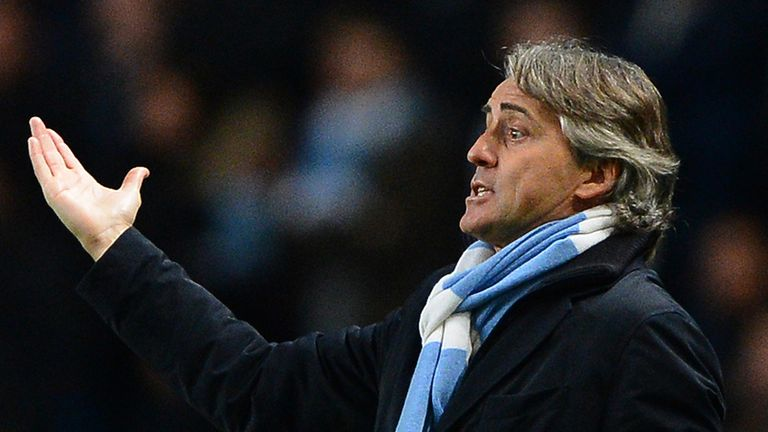 Roberto Mancini: Has shrugged off apparent criticism from Mourinho