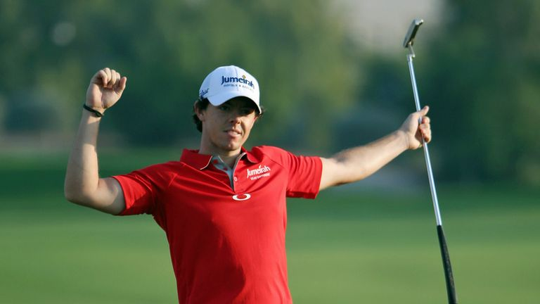 Rory McIlroy: Took the title after late birdie blitz