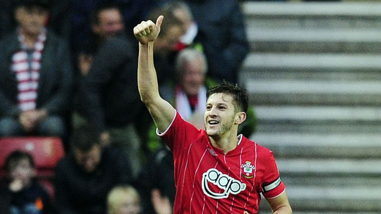 Adam Lallana: Keen to return to the Southampton starting XI