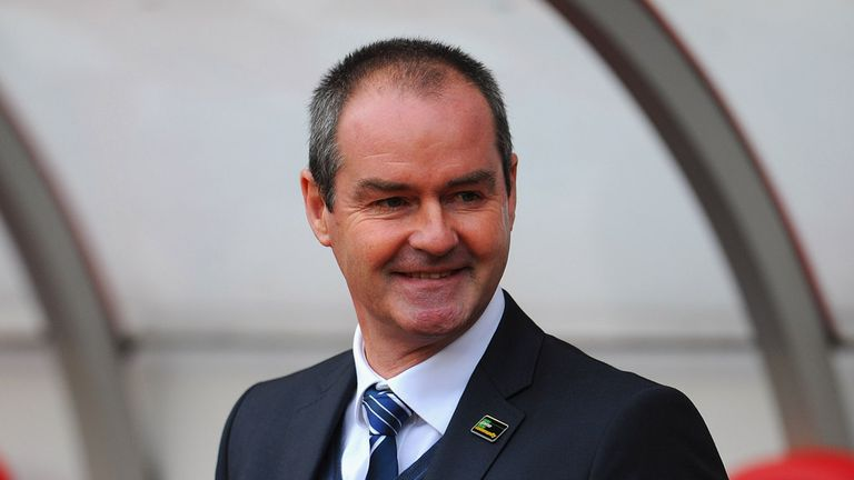 Steve Clarke: Happy with his team's return this season