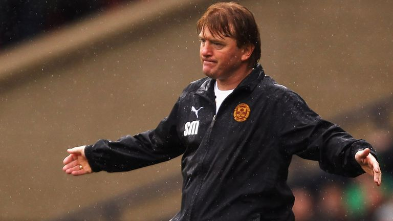 Stuart McCall: Watched his Motherwell team bring up 50 points for the season