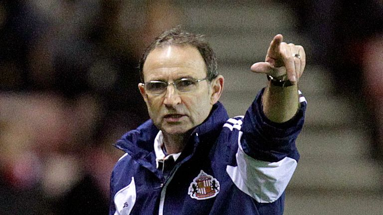 Martin O'Neill: Admits Sunderland are having a tough season but expects things to get better