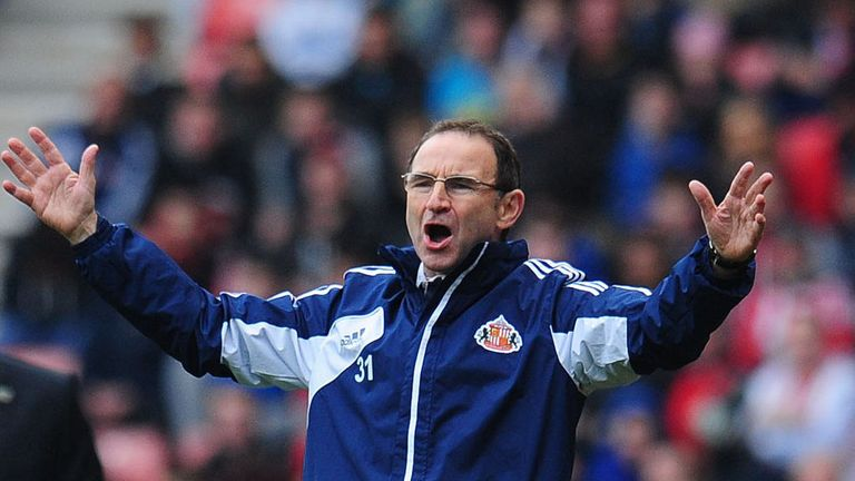 Martin O'Neill: Staying as Sunderland manager and has not offered to resign