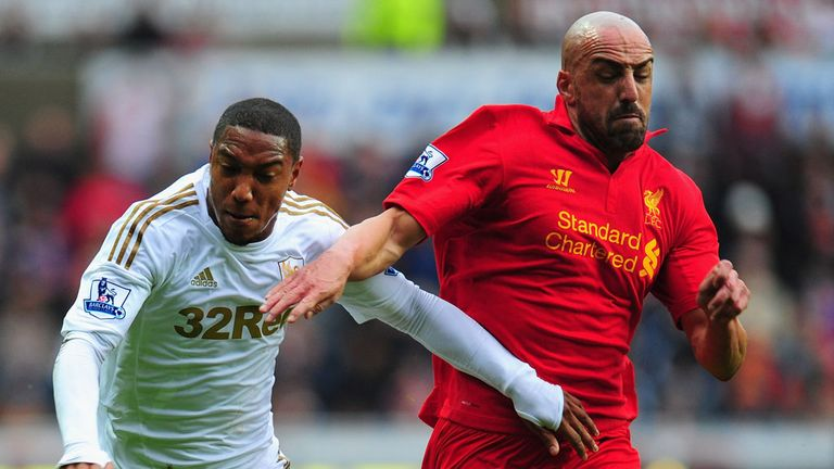 Jose Enrique: Has forced his way back into the Liverpool team