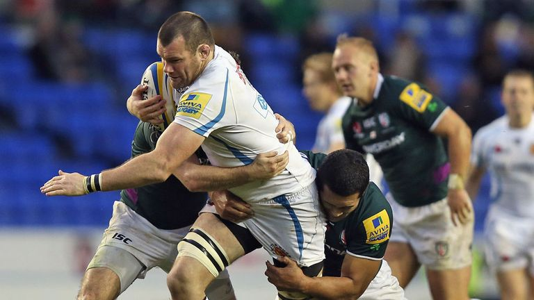 Tom Hayes: In action against London Irish