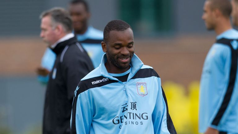 Darren Bent: Struggling to catch Aston Villa manager's eye on training ground