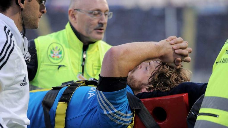 Mirco Bergamasco: Ruled out for up to five months