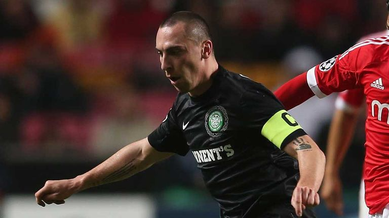 Scott Brown: Ready to welcome Aiden McGeady back to Parkhead when Celtic take on Spartak Moscow on Wednesday