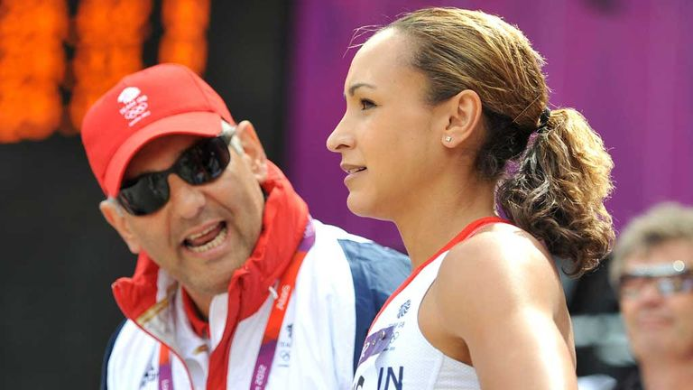 Tony Minichiello and Jessica Ennis: Award and gold medal winning partnership