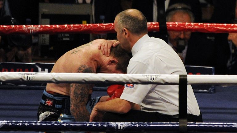 Ricky Hatton: Career over for Manchester fighter after comeback defeat