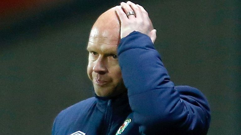 Henning Berg: Crucial error marred strong defensive display from Blackburn