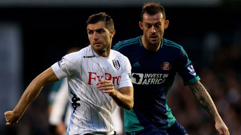 Aaron Hughes: Determined to keep his place in the Fulham side