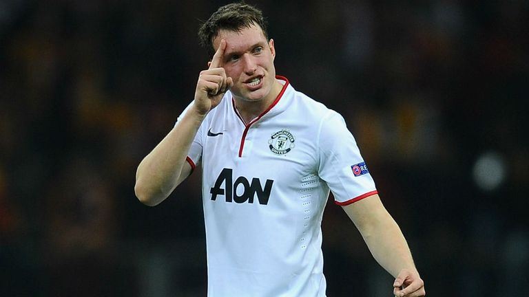 Phil Jones: Available again for Manchester United after summer knee surgery