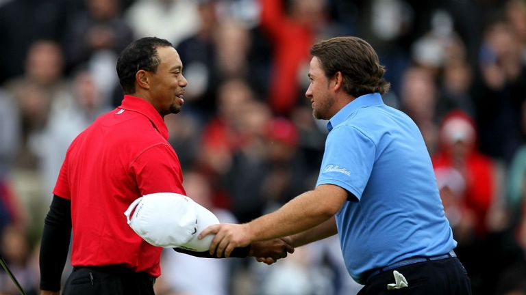 Graeme McDowell: Has happy memories of World Challenge having beaten Tiger Woods to win it in 2010