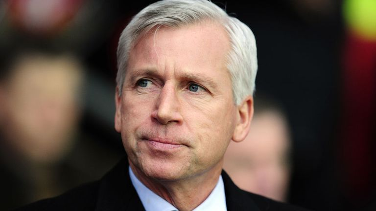 Alan Pardew: Insists he is not panicking despite a disappointing run of form