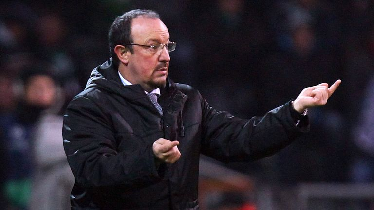 Rafael Benitez: Starts his reign at Chelsea on Thursday