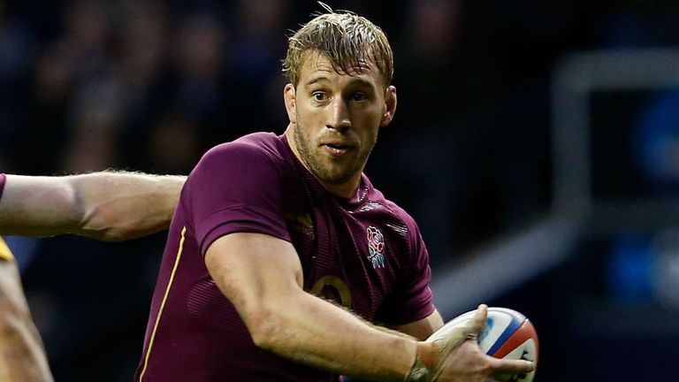 England skipper Chris Robshaw
