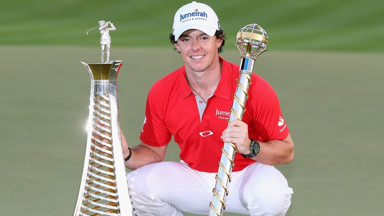 Rory McIlroy: Another award in a trophy-laden season