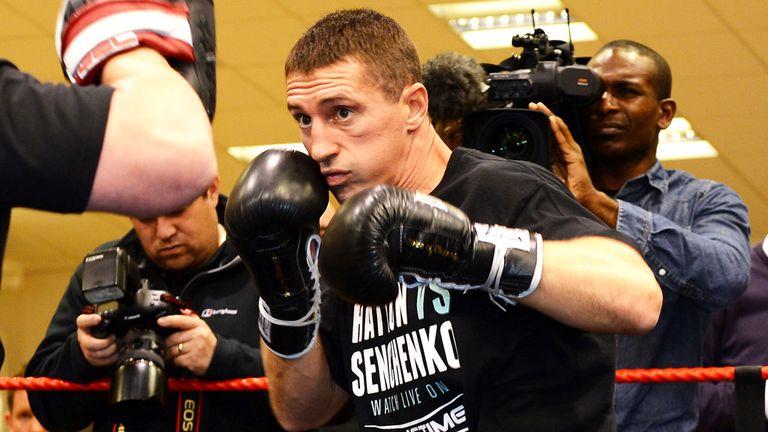 Vyacheslav Senchenko expects to ruin Ricky Hatton's return