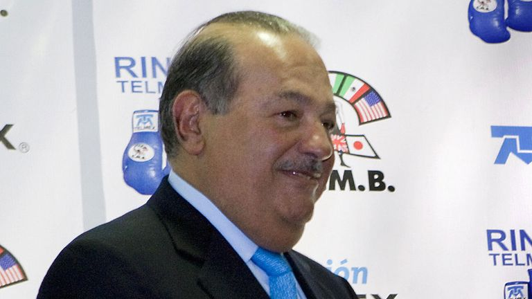 Carlos Slim: Invests in troubled Spanish club Oviedo