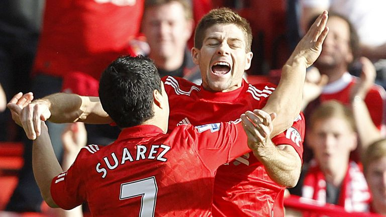Luiz Suarez and Steven Gerrard: A healthy partnership for the Reds