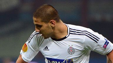 Aleksandar Mitrovic: Partizan Belgrade say striker won't be moving this summer