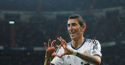 Angel di Maria: Netted twice on Sunday night