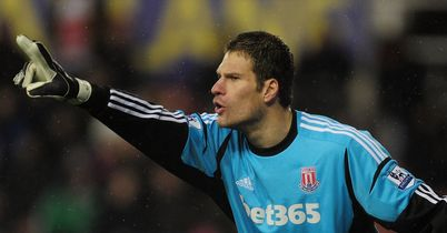 Asmir Begovic: A reported transfer target for the Premier League's top clubs