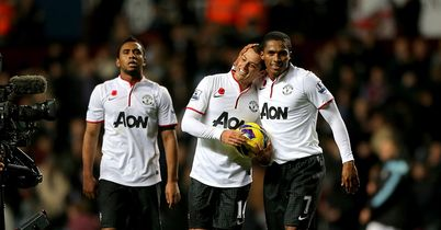 Hernandez: Celebrates with Valencia