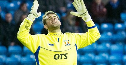 Cammy Bell: Performed outstandingly to earn Kilmarnock a draw
