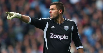 Ben Foster: Misses out for West Brom
