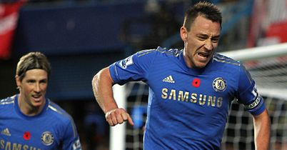 John Terry: Ecstasy before agony as Chelsea skipper celebrates scoring