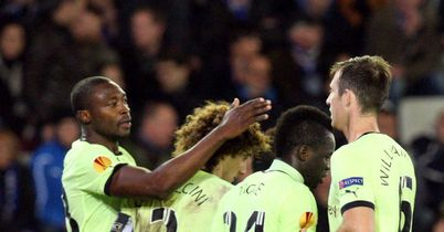 Newcastle: Came from behind to draw with Bruges
