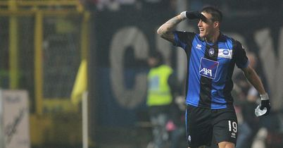Denis: Scored twice for Atalanta