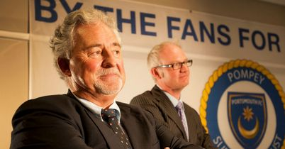 Iain McInnes and Ashley Brown: Portsmouth Supporters Trust